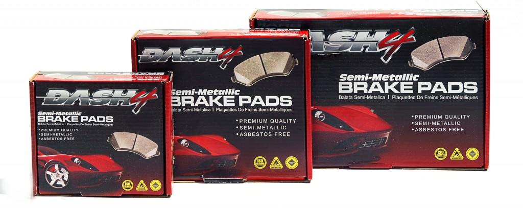 Dash4 Semi-Metallic Brakes